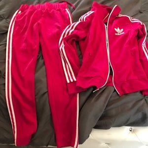 Adidas 2 piece track suit